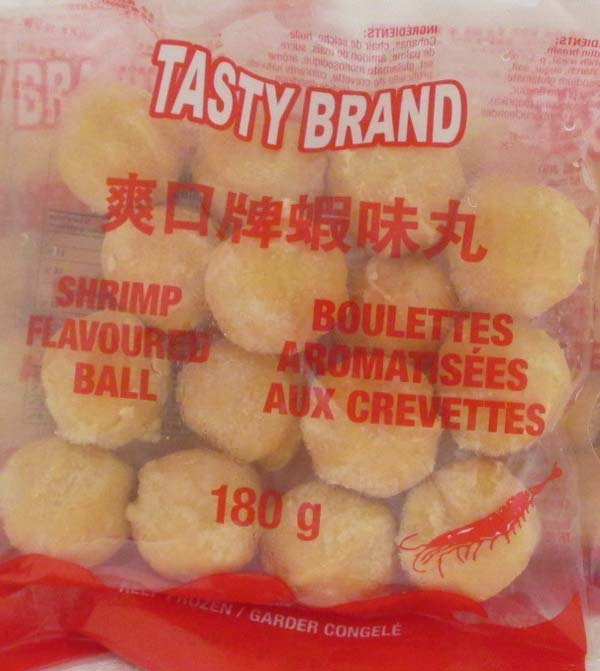 Tasty - Shrimp Flavoured Ball (front)