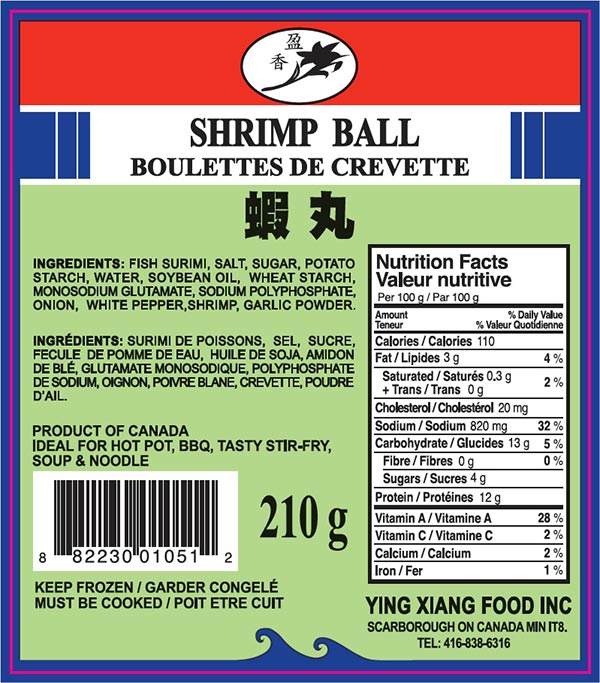 Shrimp Ball - 210 grams