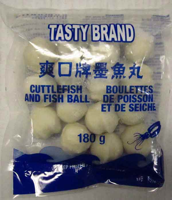 Fish and Cuttlefish Ball - 180 g