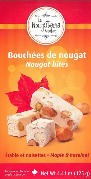 Nougat Bites – Maple & Hazelnut