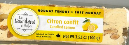 Soft Nougat – Candied Lemon