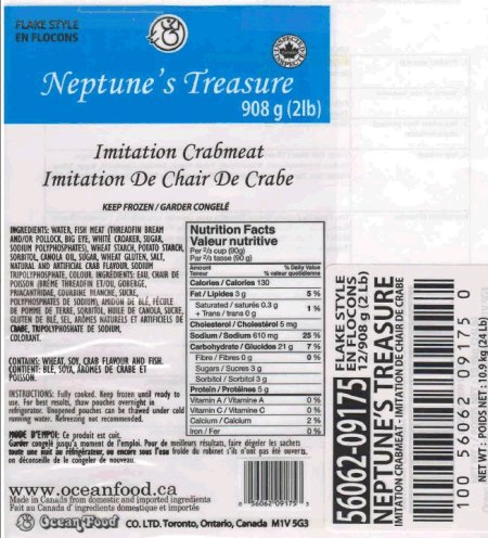 Neptune's Treasure Imitation Crabmeat- Flake Style