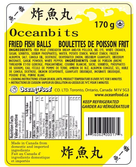 Oceanbits Fried Fish Balls