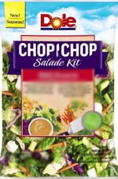"Dole - <span lang=""en"">chop chop salade kit</span> - exemple"