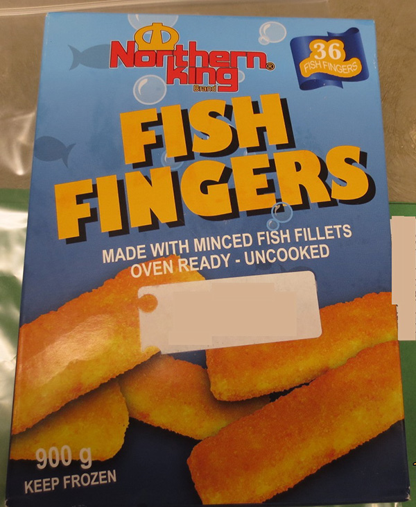 Northern King - Fish Fingers - 900 gram