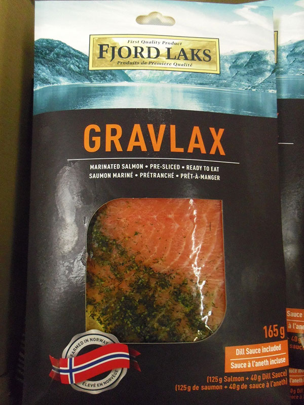 Gravlax – Marinated Salmon (Dill sauce included) - 165 g