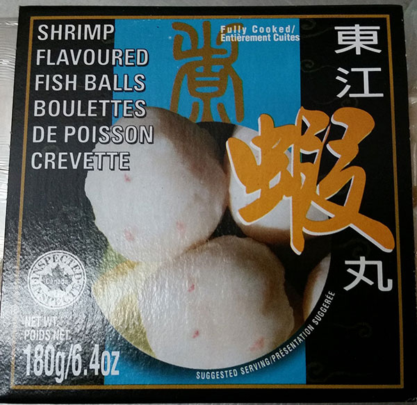 Mannarich Food - Shrimp Flavoured Fish Balls - 180 gram