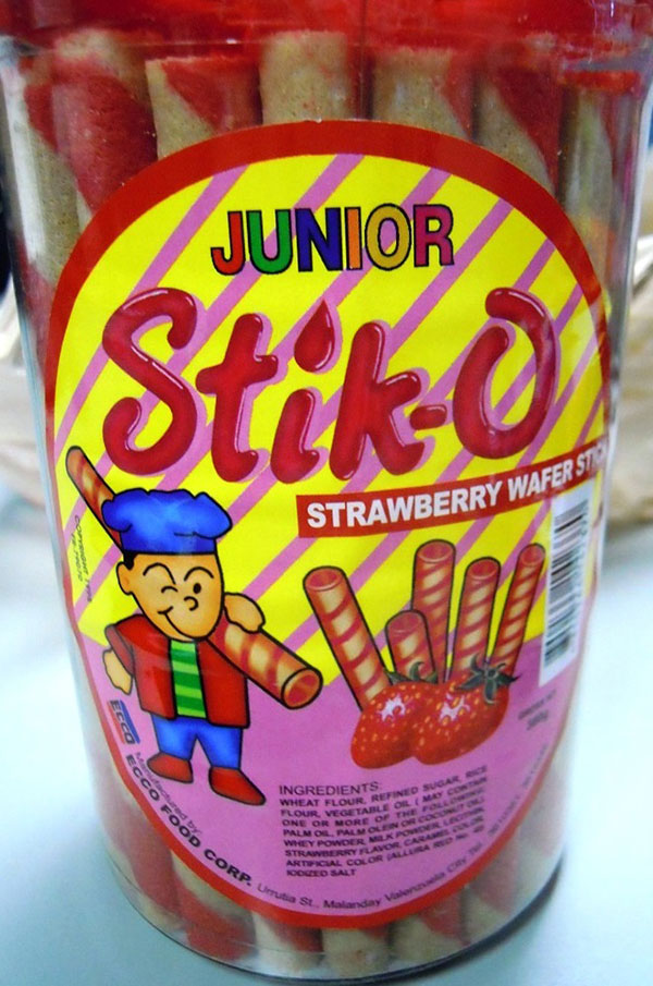 Strawberry Wafer Stick - 380 grams