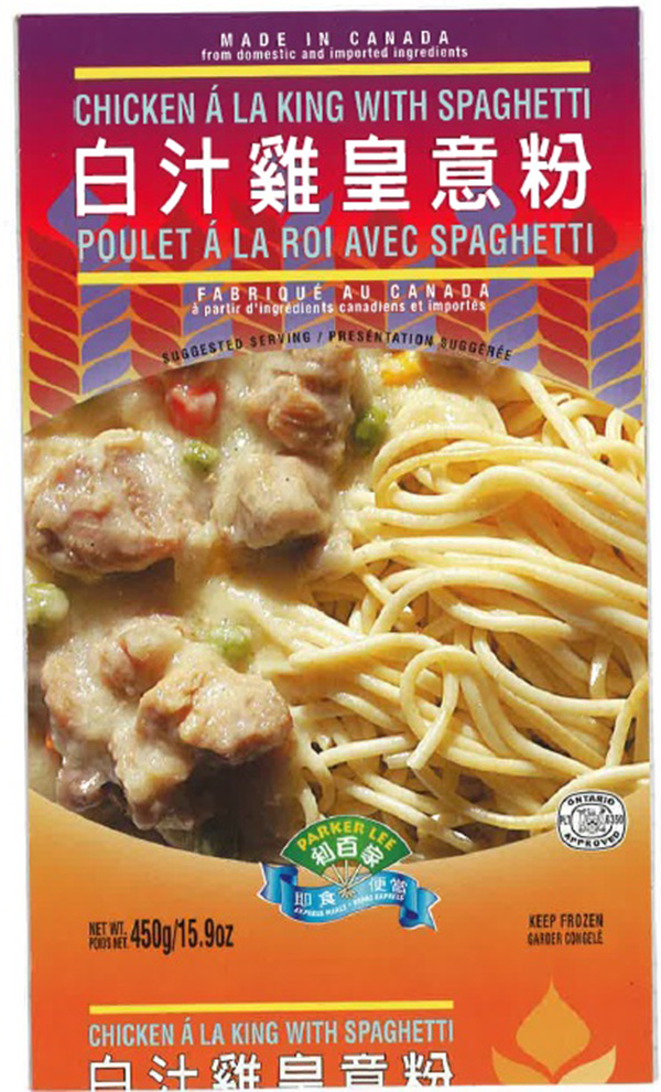 Parker Lee: Chicken à la king with spaghetti - 450 grams