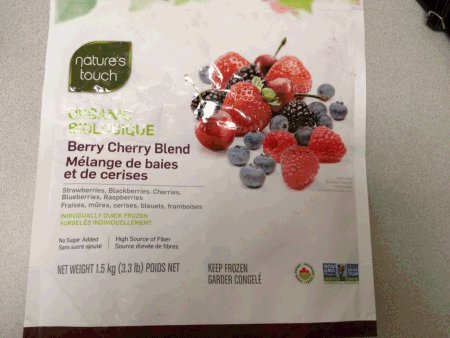 Nature's Touch - Organic Berry Cherry Blend