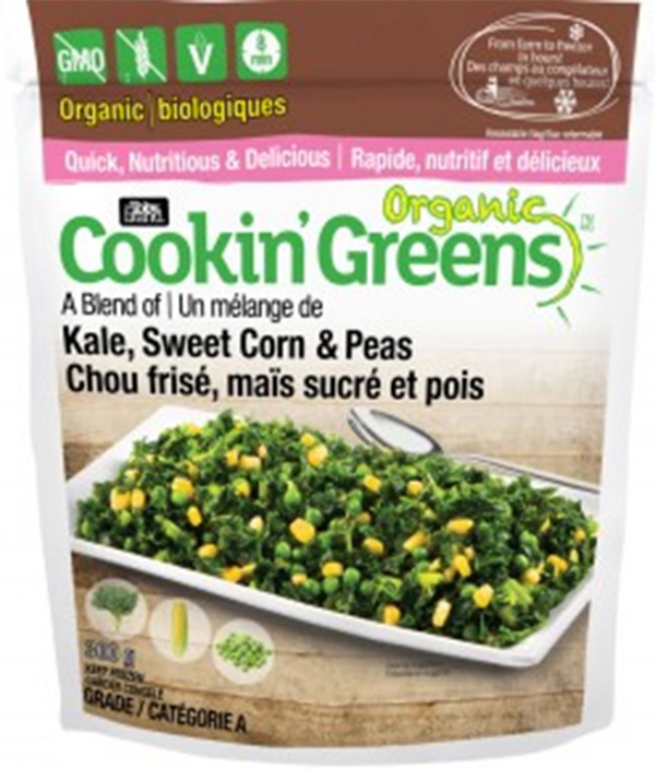Cookin' Greens Organic - 300 grams