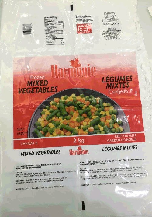 Harmonie - Frozen Mixed Vegetables