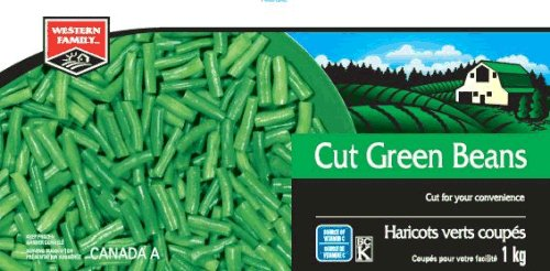 Western Family - Cut Green Beans - 1 kilogram