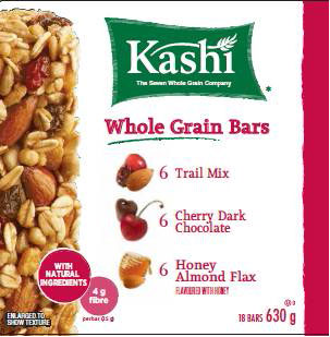 Kashi - Whole Grain Bars - 630 gram (18 bars)