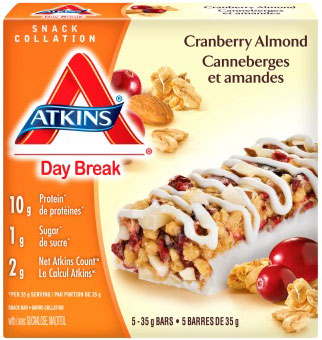 Cranberry Almond - 175 grams (5 x 35 grams bars)