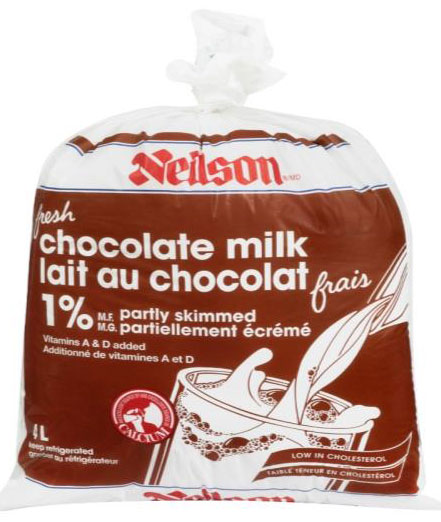 Partly Skimmed Chocolate Milk - 4 Liter