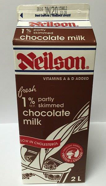 Partly Skimmed Chocolate Milk - 2 Liter
