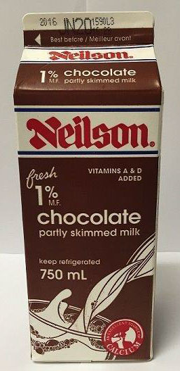 Partly Skimmed Chocolate Milk - 750 millilitre