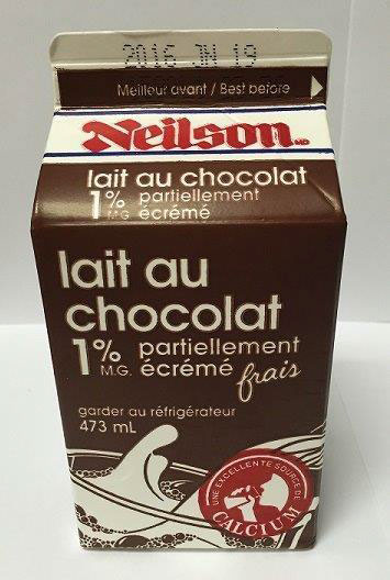 Partly Skimmed Chocolate Milk - 473 millilitre