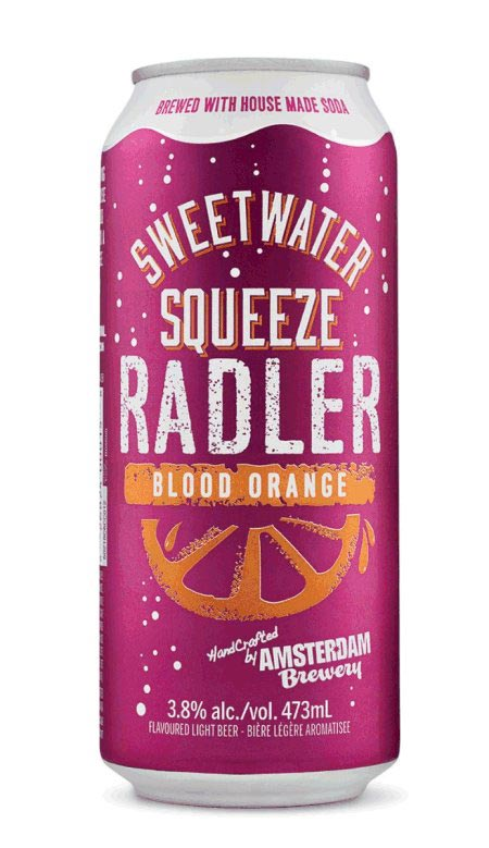 Sweetwater Squeeze Radler Blood Orange