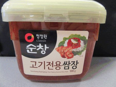 Seasoned Soybean Paste (Meat Dipping Seasoned Bean Paste) - 900 grams