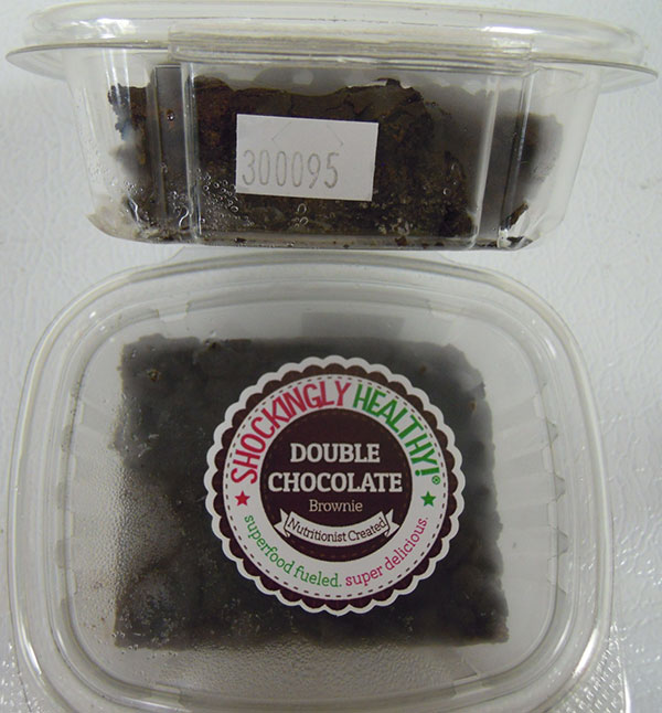 Double Chocolate Brownie - 1 brownie (70 grams)