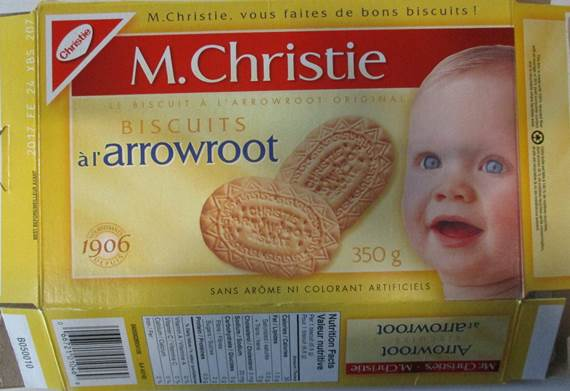 Arrowroot Biscuits 350 grams