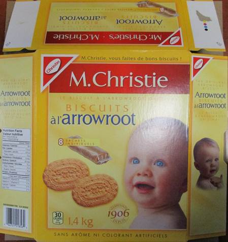 Arrowroot Biscuits 1.4 kilograms