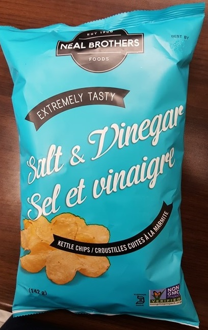 Neal Brothers Foods brand Salt & Vinegar Kettle Chips