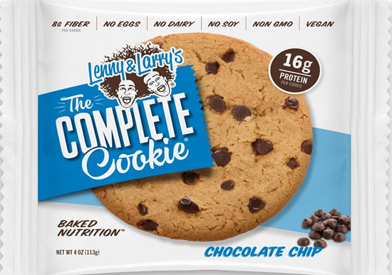 Lenny and Larry's The Complete Cookie - « Chocolate Chip »  anglais seulement - 113 gramme