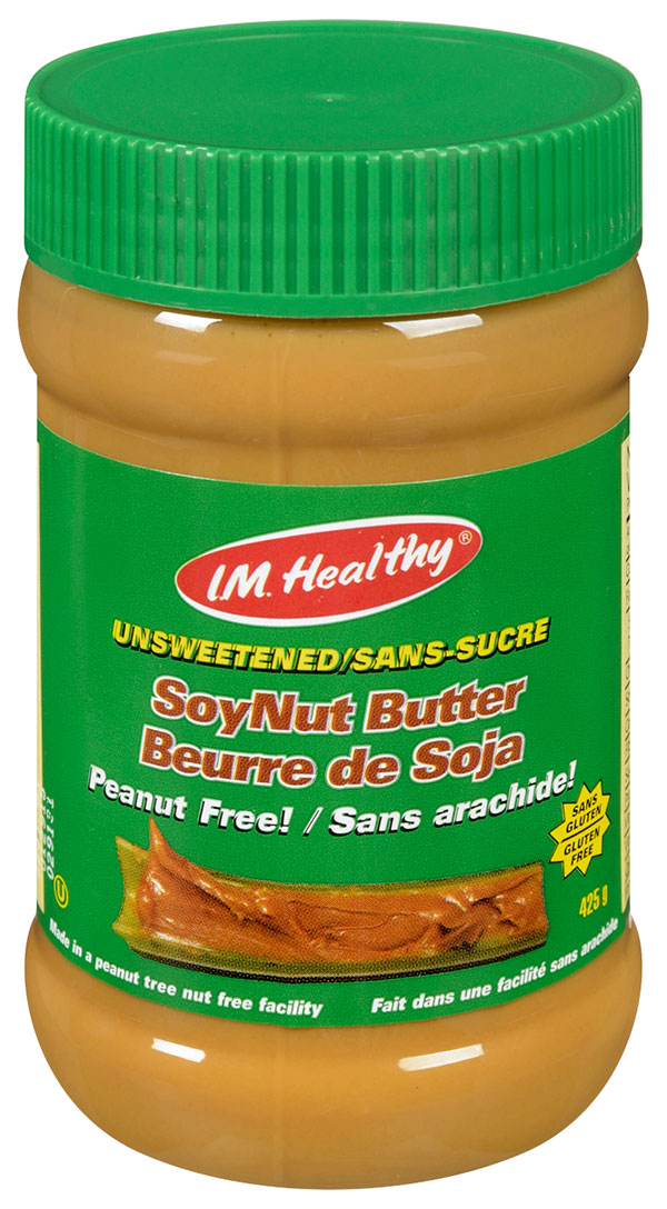 I.M. Healthy - Unsweetened SoyNut Butter - 425 gram