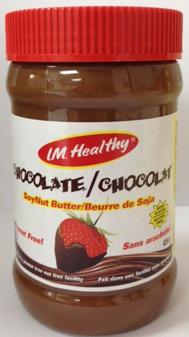 I.M. Healthy - Chocolate SoyNut Butter - 425 gram