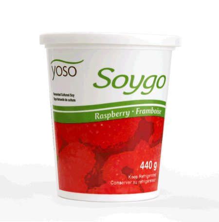 Soygo Fermented Cultured Soy - Raspberry