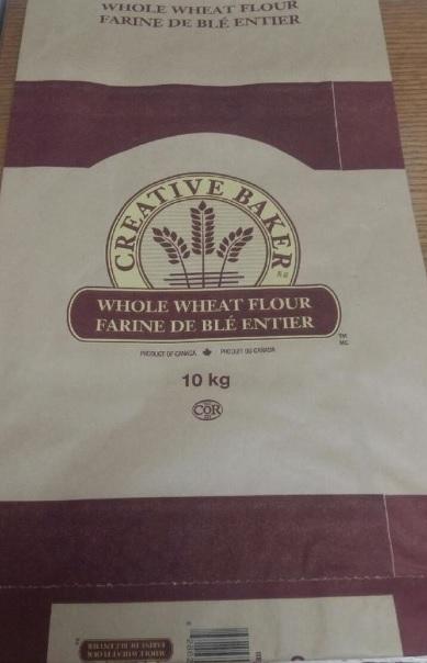 Creative Baker - Whole Wheat Flour