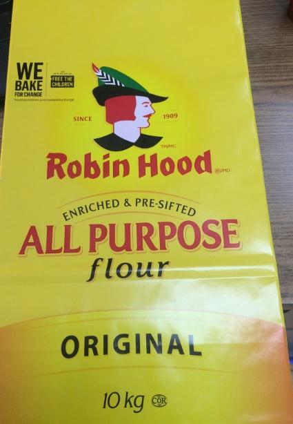 Robin Hood - All Purpose Flour, Original - 10 kilogram