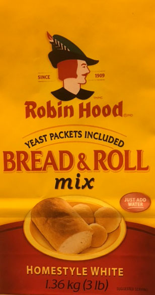 Bread and Roll Mix Homestyle White - 1.36 kilograms