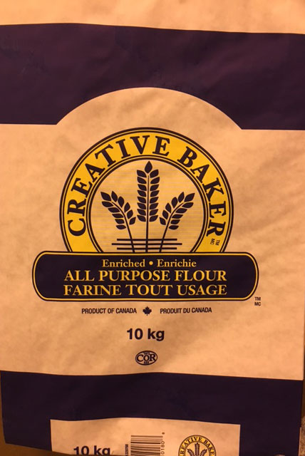 All Purpose Flour - Creative Baker - 10 kilograms
