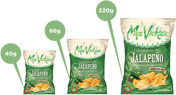 Miss Vickie's - Jalapeño Kettle Cooked Potato Chips