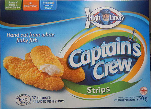 High Liner Captain's Crew - Breaded Fish Strips (Retail distribution)