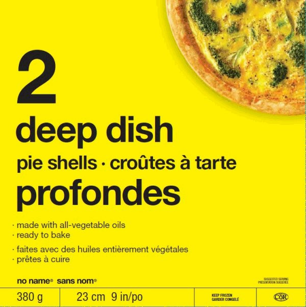 no name - Deep Dish Pie Shells