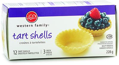 Western Family - 12 Tart Shells