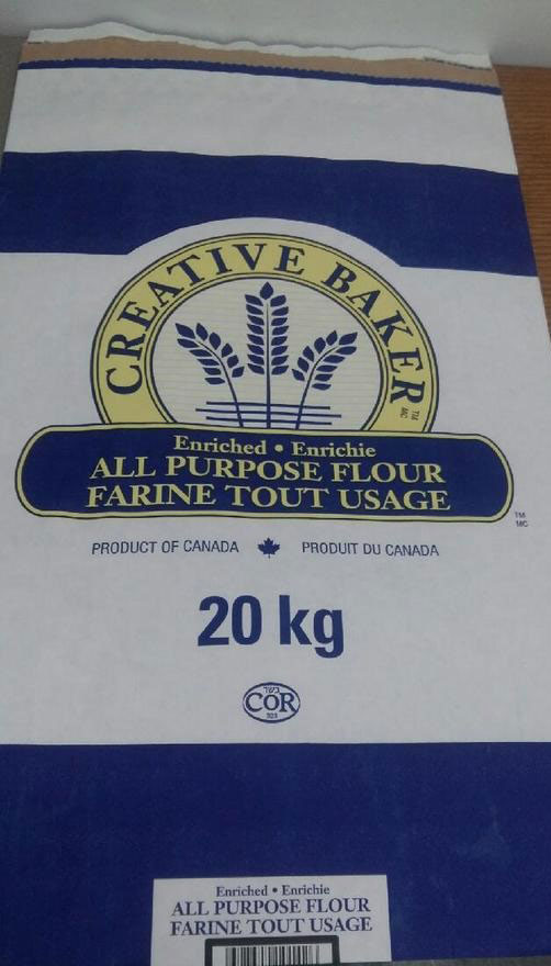 Creative Baker brand All Purpose Flour 20 kilograms