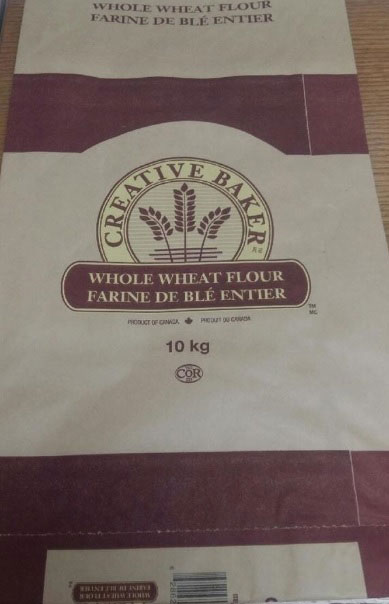 Creative Baker brand Whole Wheat Flour 10 kilograms