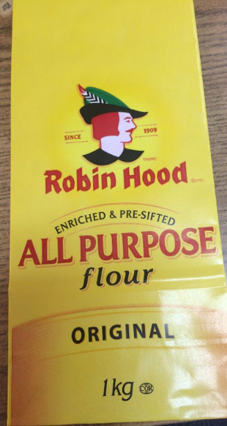 Robin Hood brand All Purpose Flour 1 kilogram