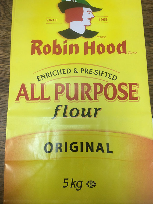 Robin Hood brand All Purpose Flour Original 5 kilograms