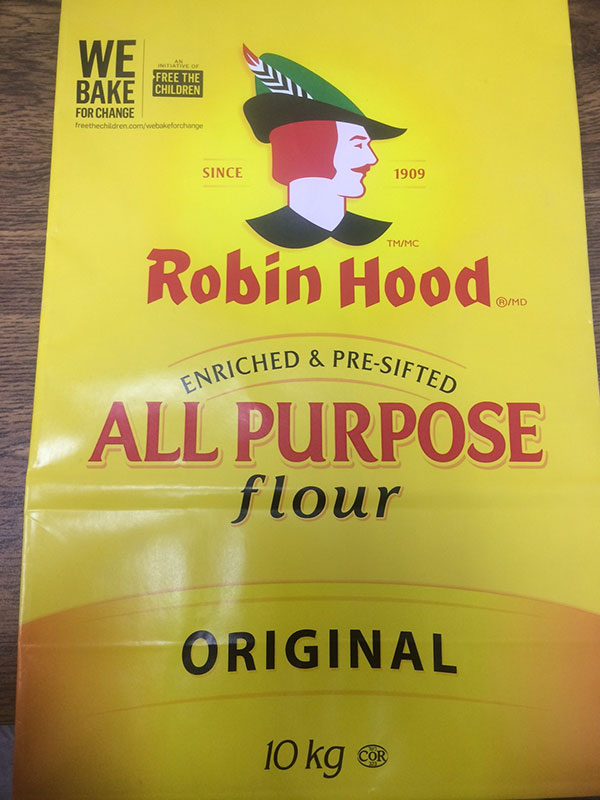 Robin Hood brand All Purpose Flour Original 10 kilograms