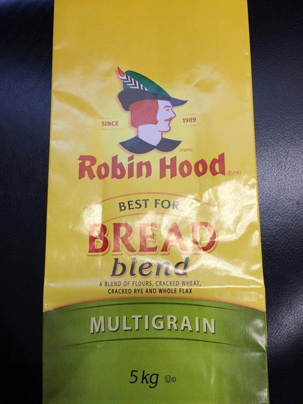 Robin Hood brand Best for Bread Blend Multigrain 5 kilograms