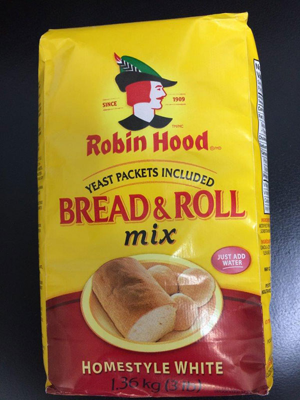 Robin Hood brand Bread and Roll Mix 1.36 kilograms