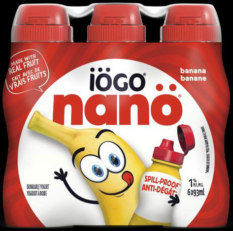 iögo nanö Banana Drinkable Yogurt