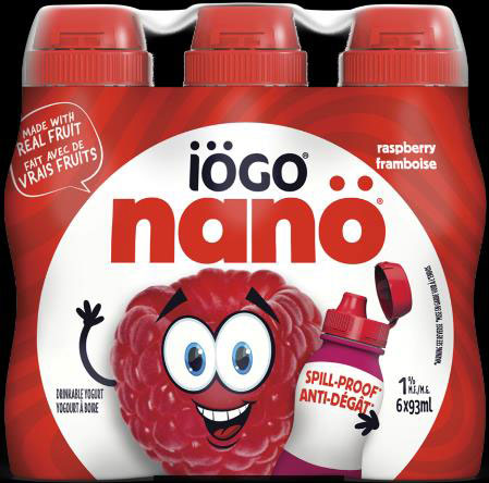 iögo nanö Raspberry Drinkable Yogurt